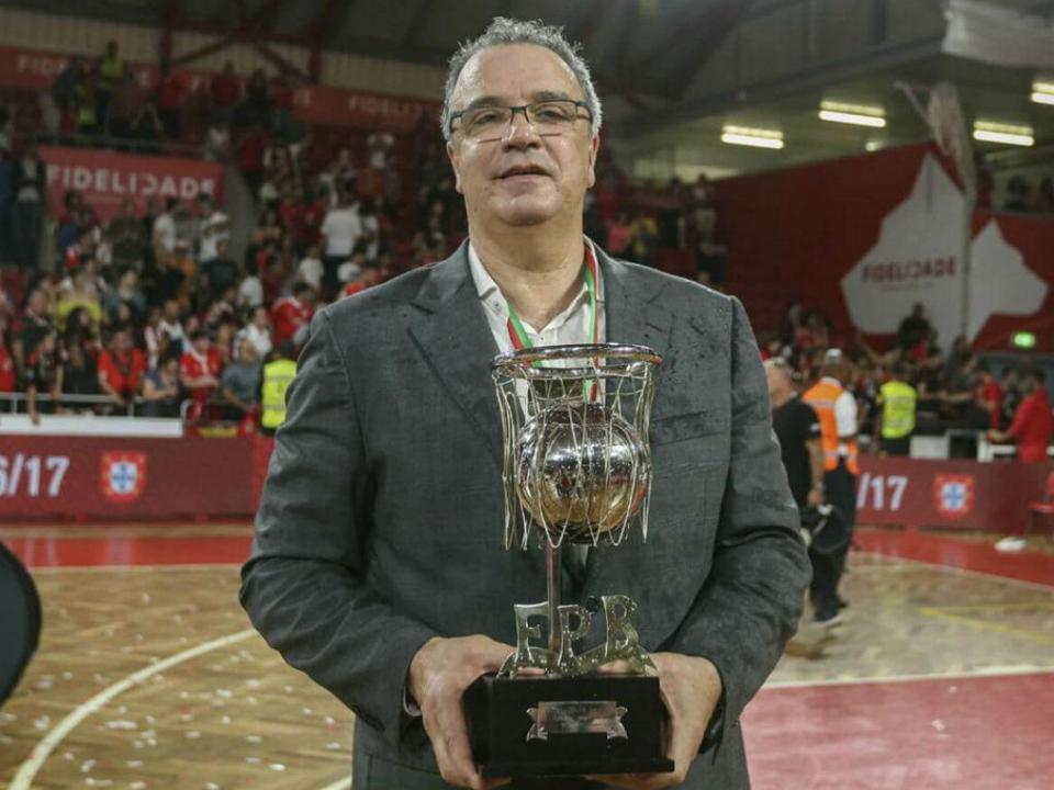 Basquetebol: Carlos Lisboa volta a ser o treinador do Benfica