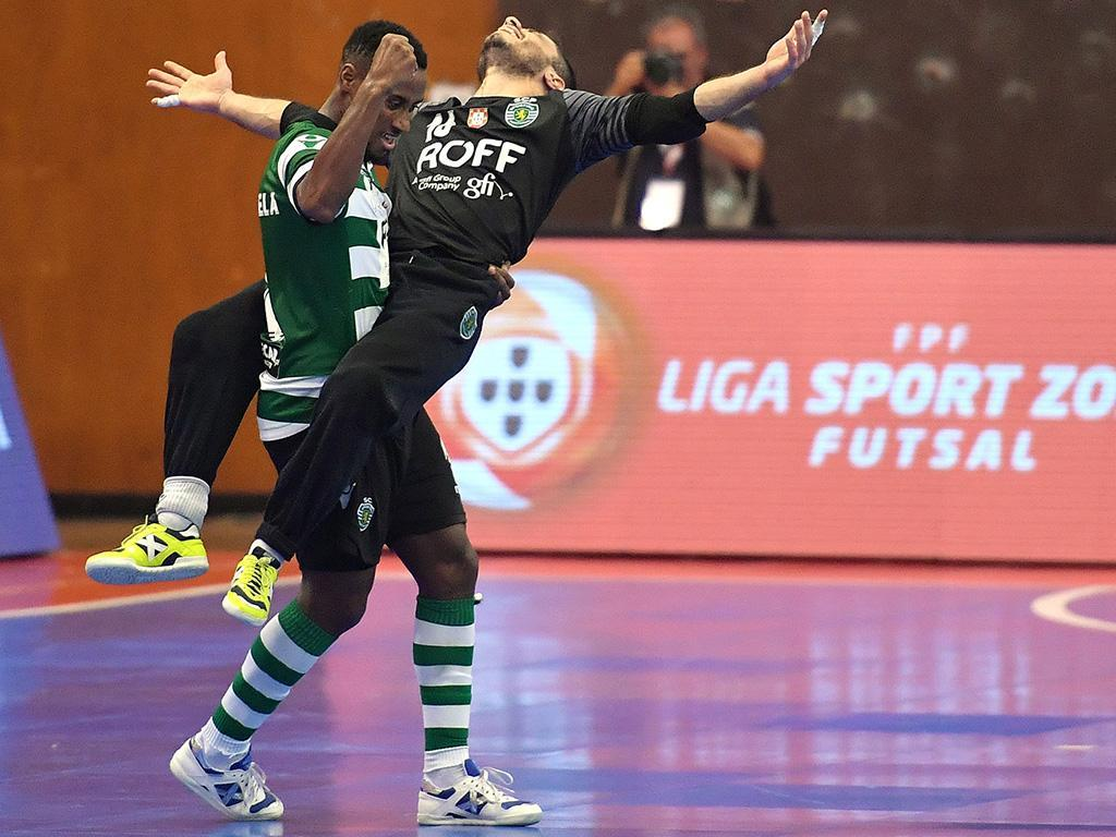 Futsal: Sporting vence no Fundão por 3-1