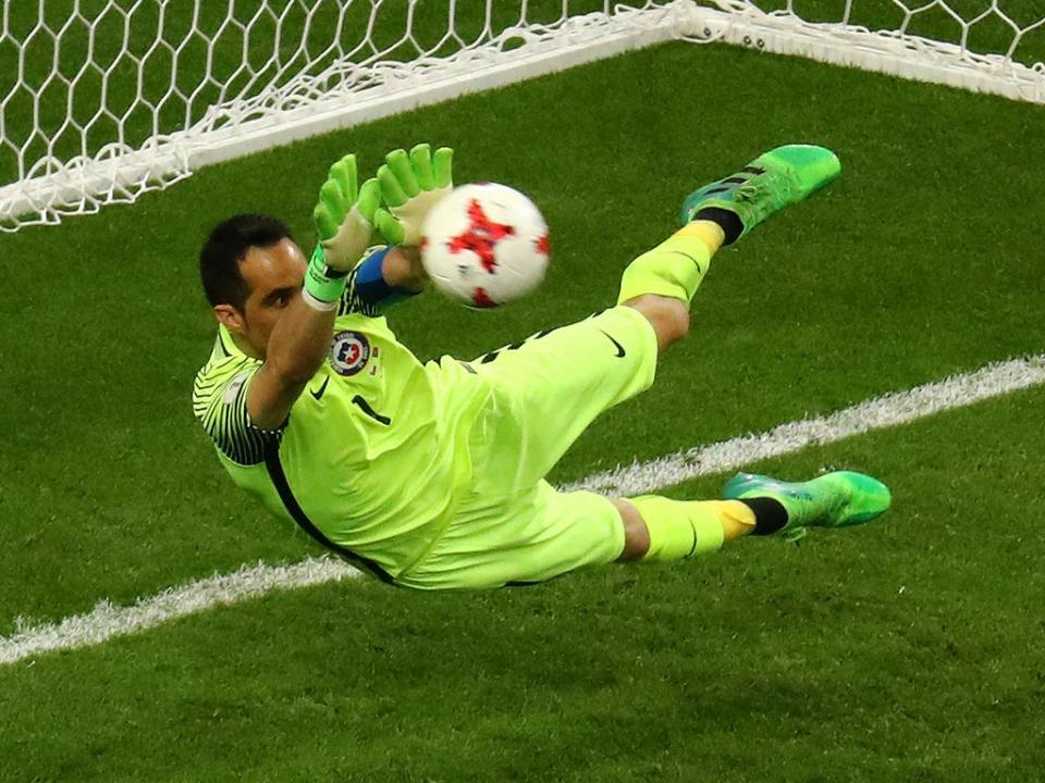 O «gesto nobre» do Real Madrid para com Claudio Bravo