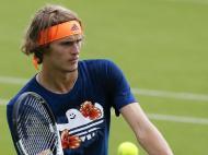 Wimbledon: Federer e Nadal já aquecem