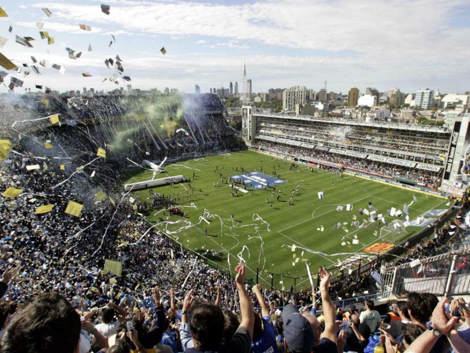 Lotação esgotada na Bombonera para a 1.ª mão da final da Libertadores
