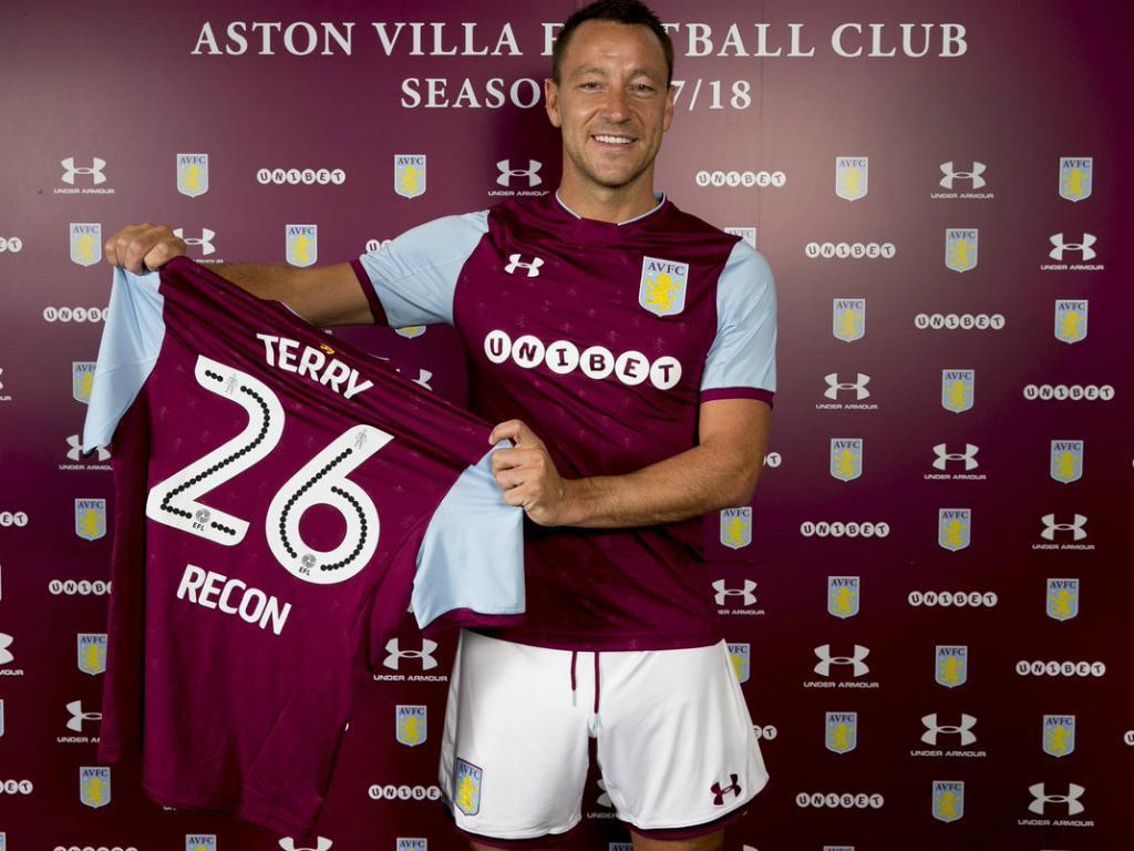 John Terry é reforço do Aston Villa — OFICIAL