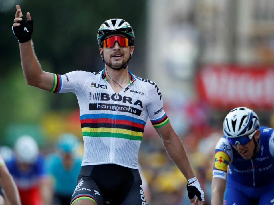Tour: Peter Sagan caiu e sofreu múltiplas escoriações