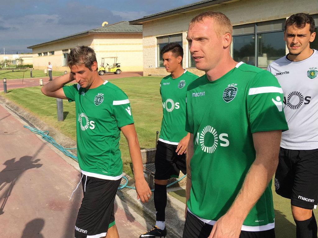 Sporting: Mathieu integrado, Ruben Ribeiro não treina