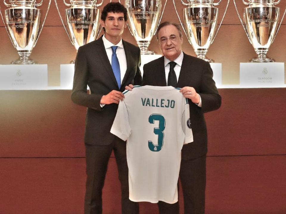 Real Madrid: Vallejo abandona treino em lágrimas
