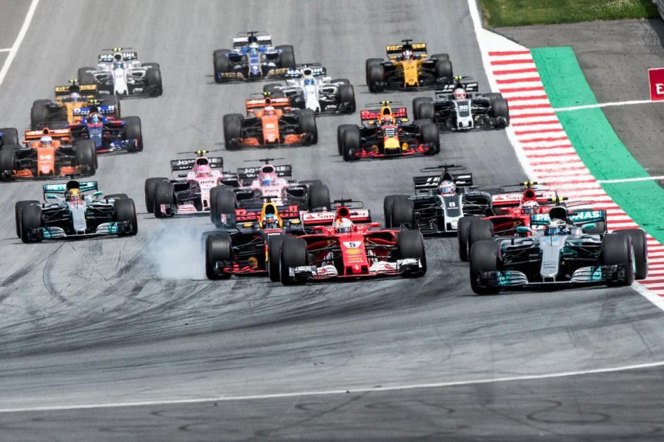 F1: GP da Áustria vai ter mais zonas de DRS