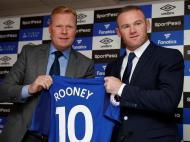 Wayne Rooney de volta ao Everton