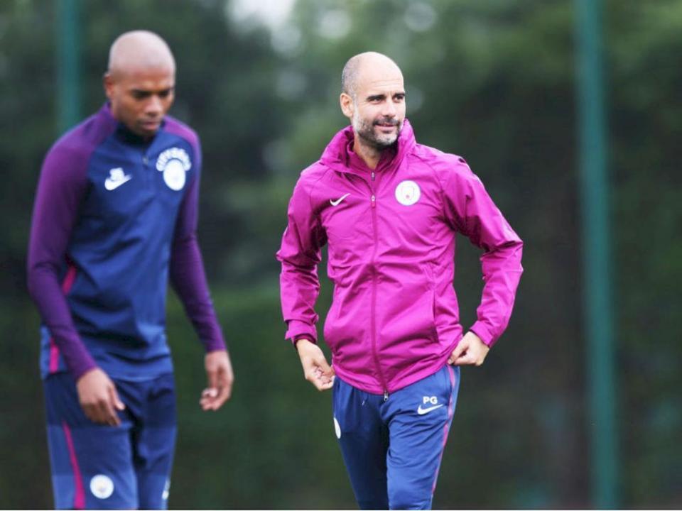 Guardiola: «Não tinha lugar nesta equipa do Man. City»