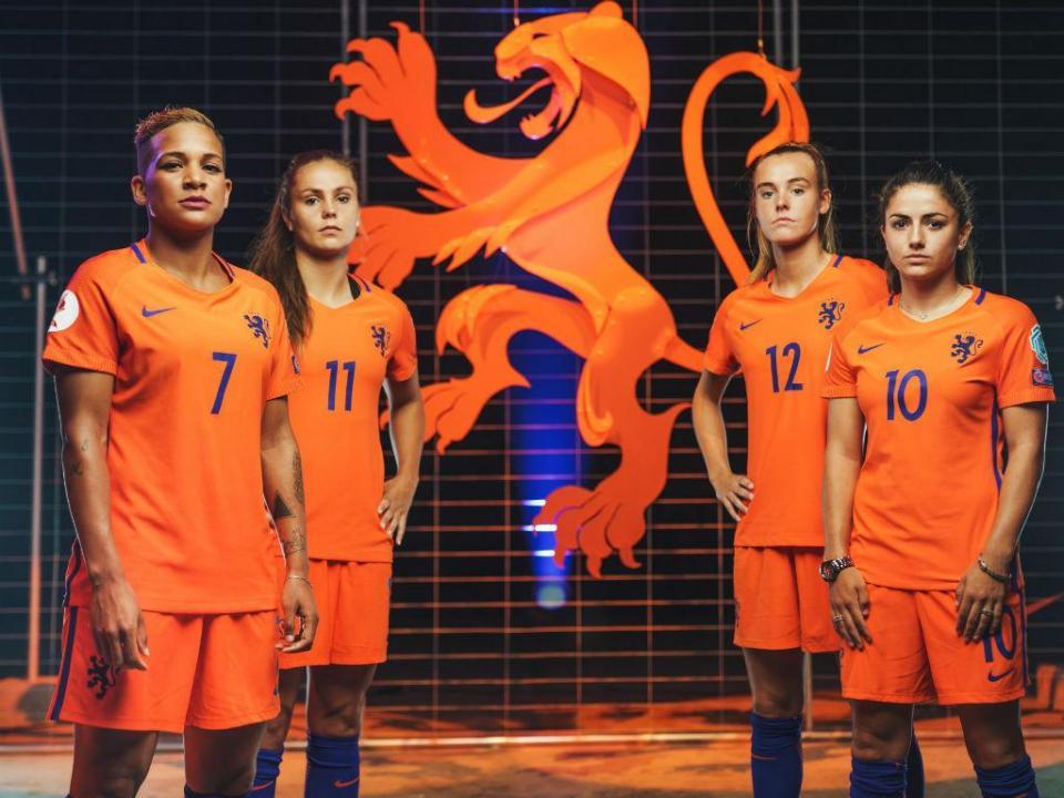 Europeu feminino  Holanda troca leão por leoa no símbolo ... 95d375bd7aea7