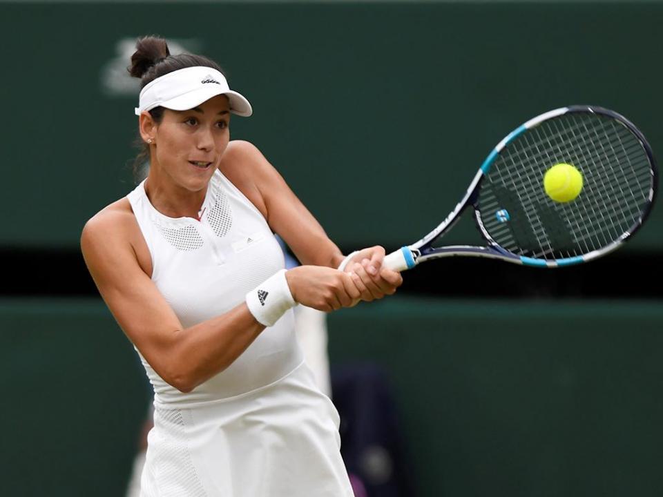 Wimbledon: Garbiñe Muguruza apura-se para a segunda ronda