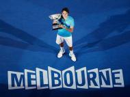 Roger Federer: Austrália 2010 (Reuters)