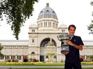 Roger Federer: Austrália 2017 (Reuters)