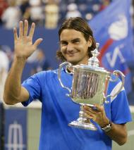 Roger Federer: Estados Unidos 2004 (Reuters)