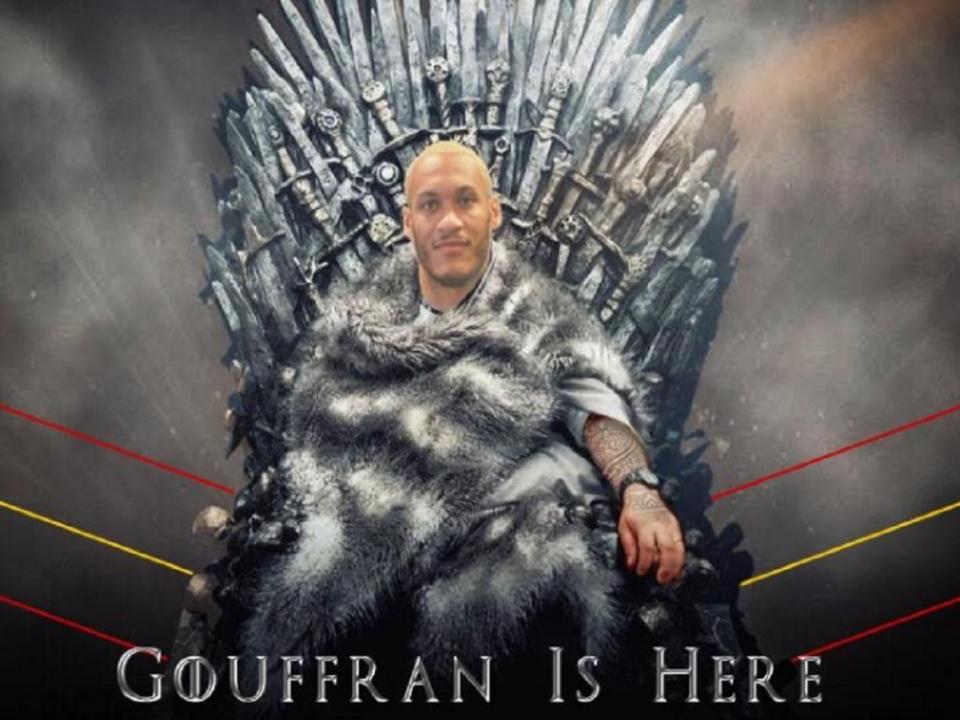 Equipa de Castro contrata Gouffran com referência a Guerra dos Tronos