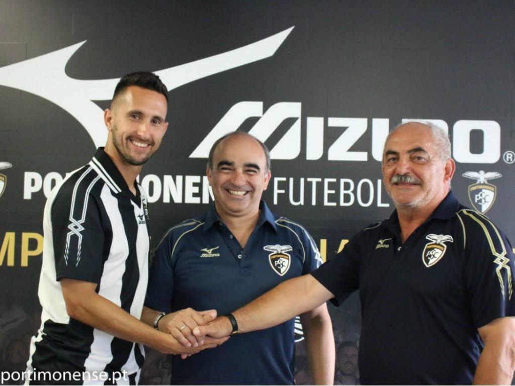 OFICIAL: Rúben Fernandes regressa ao Portimonense