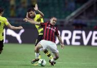 Dortmund bateu Milan na China (EPA/ALEKSANDAR PLAVEVSKI)