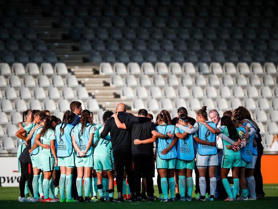 Seleção feminina sub-19 na Ronda de Elite de acesso ao Europeu