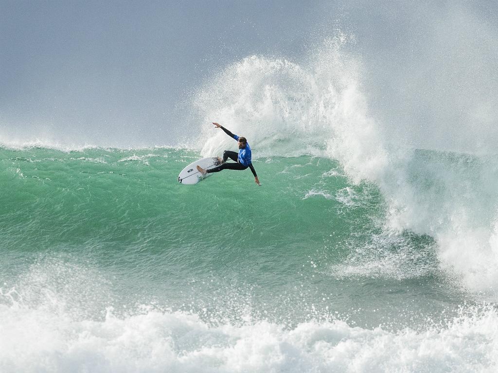Surf: Frederico Morais eliminado na terceira ronda em França