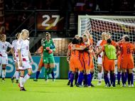 Futebol Feminino: Holanda-Dinamarca (Lusa)