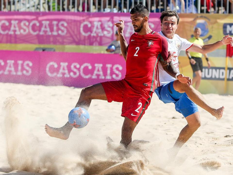 Futebol de Praia: Portugal vence Suíça na superfinal da Liga Europeia
