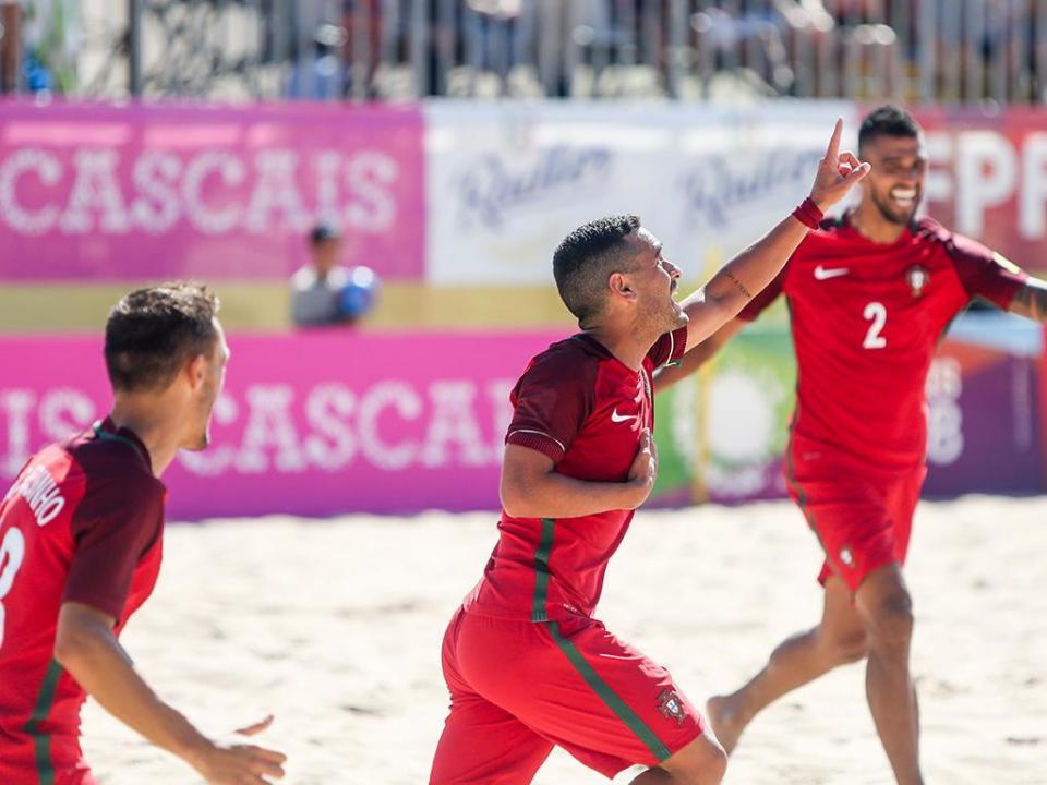 Futebol Praia: Portugal vence Polónia em particular