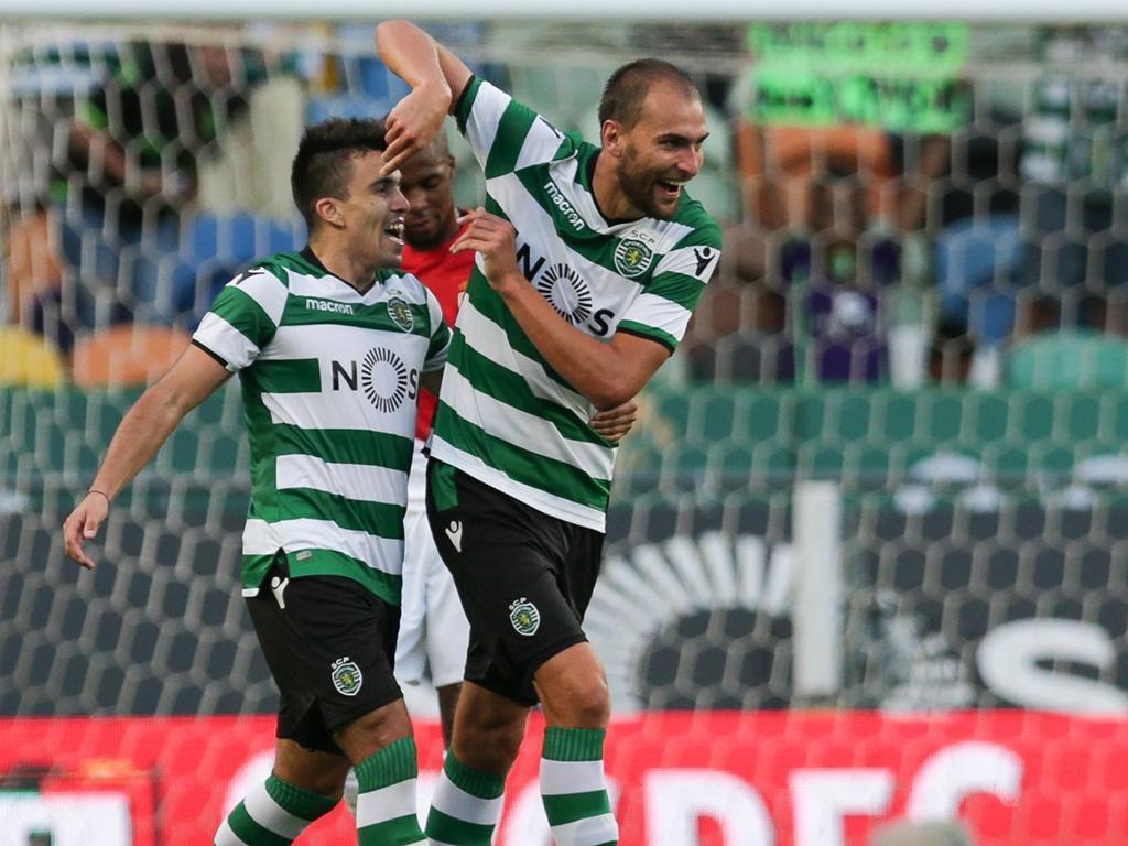 Sporting bate o Monaco com gol do artilheiro do último Português