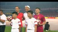 Visita de Ronaldo levou os chineses à loucura