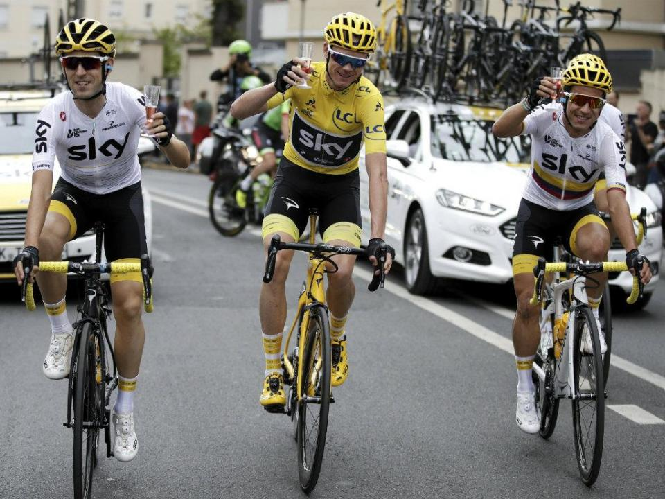 Chris Froome com teste de doping positivo na Volta a Espanha