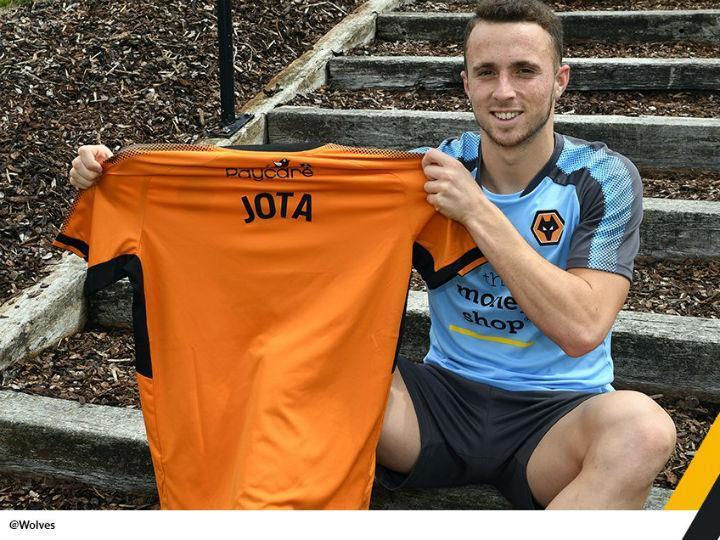 Mercado: OFICIAL - Diogo Jota é reforço do Wolverhampton de NES