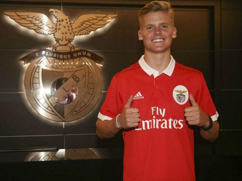 Keaton Parks promete cunha para a irmã na equipa do Benfica