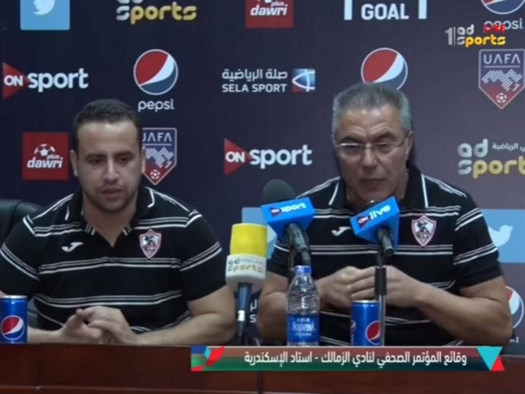 Inácio já rescindiu contrato com o Zamalek