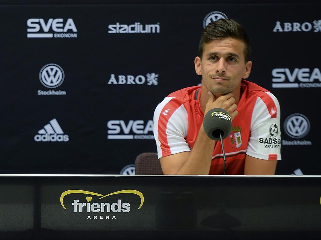 Braga empata na Suécia — Liga Europa