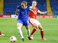 Futebol Feminino: Suiça-França (Lusa)