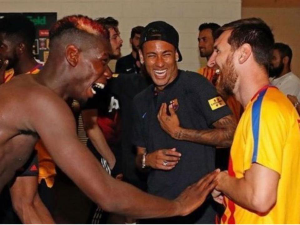 Pogba: «Messi faz coisas que mais ninguém faz»