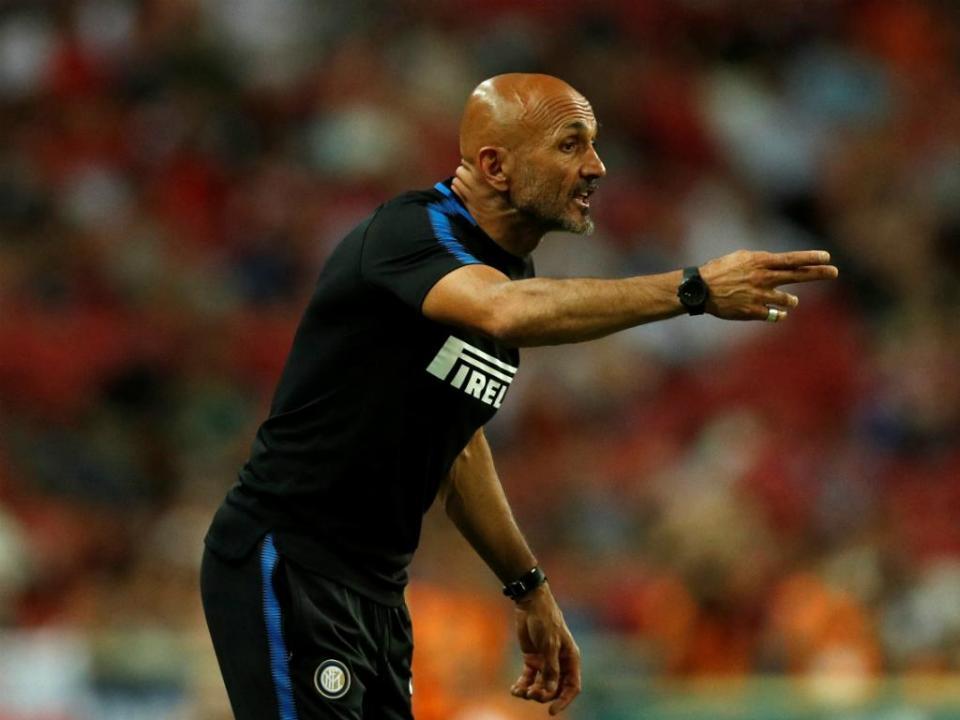 Spalletti e a Juve: «Não jogamos com o terceiro classificado»