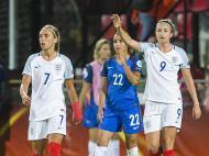 Futebol Feminino: Inglaterra-França (Lusa)