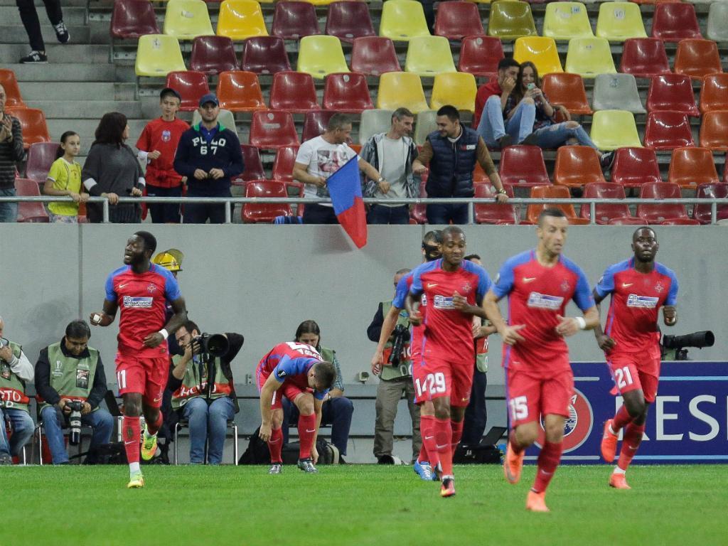 Atenção, Sporting: Steaua empata e Filipe Teixeira contrai lesão feia