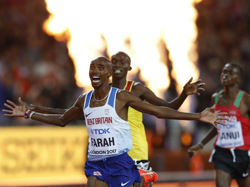 Mo Farah despede-se da pista com vitória no meeting de Zurique