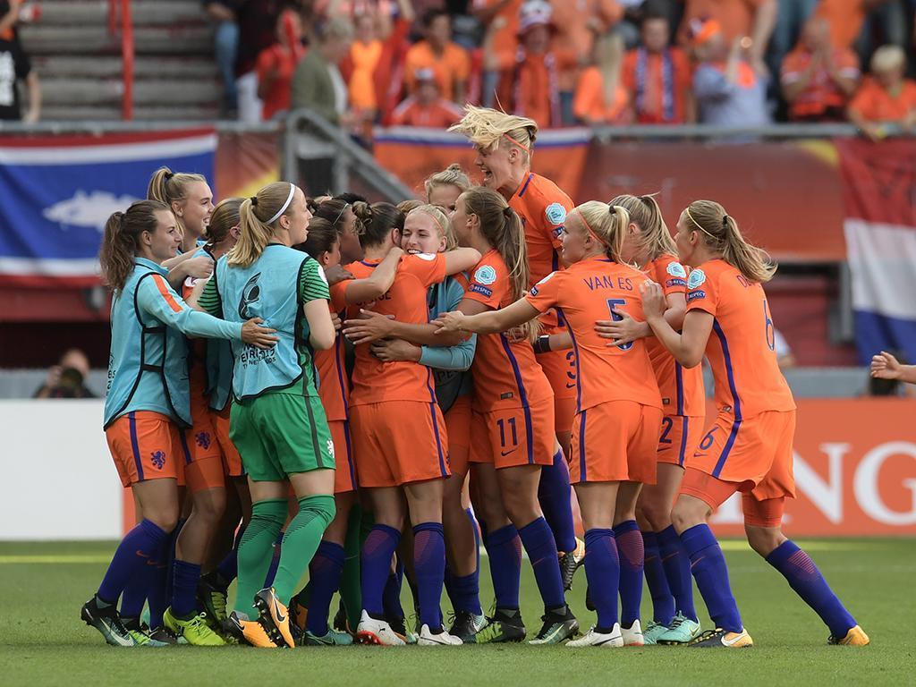 Holanda é campeã da Europa de futebol feminino