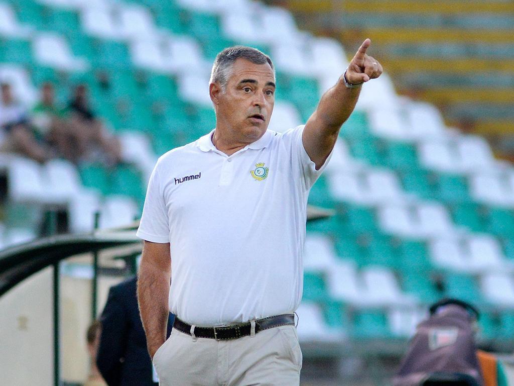 V. Setúbal: Couceiro chama 21 no regresso de Nuno Pinto