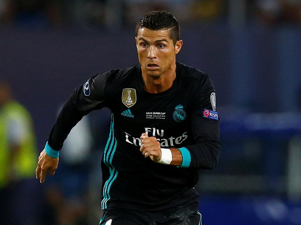 «Cristiano está muito bem», diz Zidane antes da Supertaça