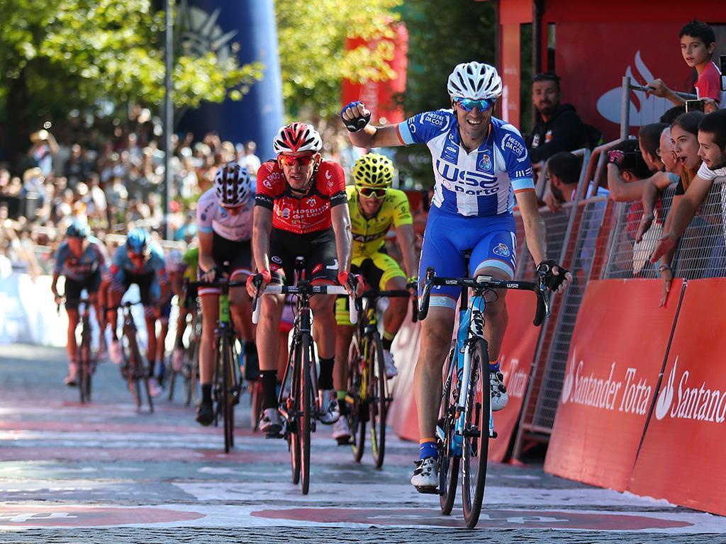 Volta a Portugal: De Mateos vence etapa e sobe ao segundo lugar