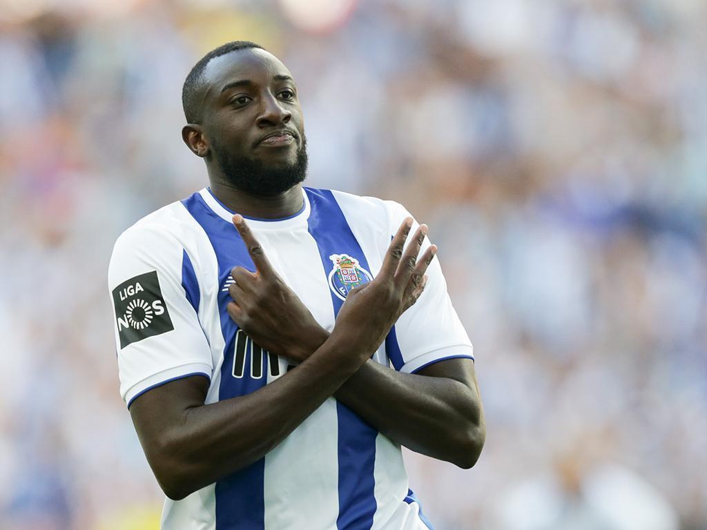 Tondela-FC Porto (onzes): Marega faz dupla com Aboubakar no ataque
