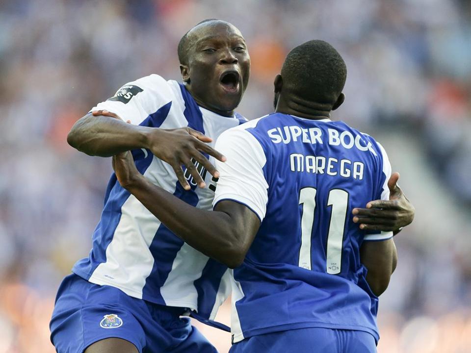 Aboubakar-Marega: dupla melhor no FC Porto só há 34 anos