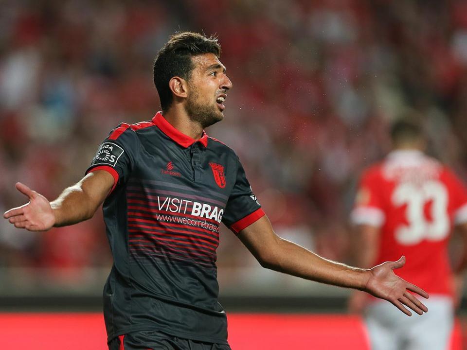 VÍDEO: o lance que levou VAR a invalidar golo ao Sp. Braga