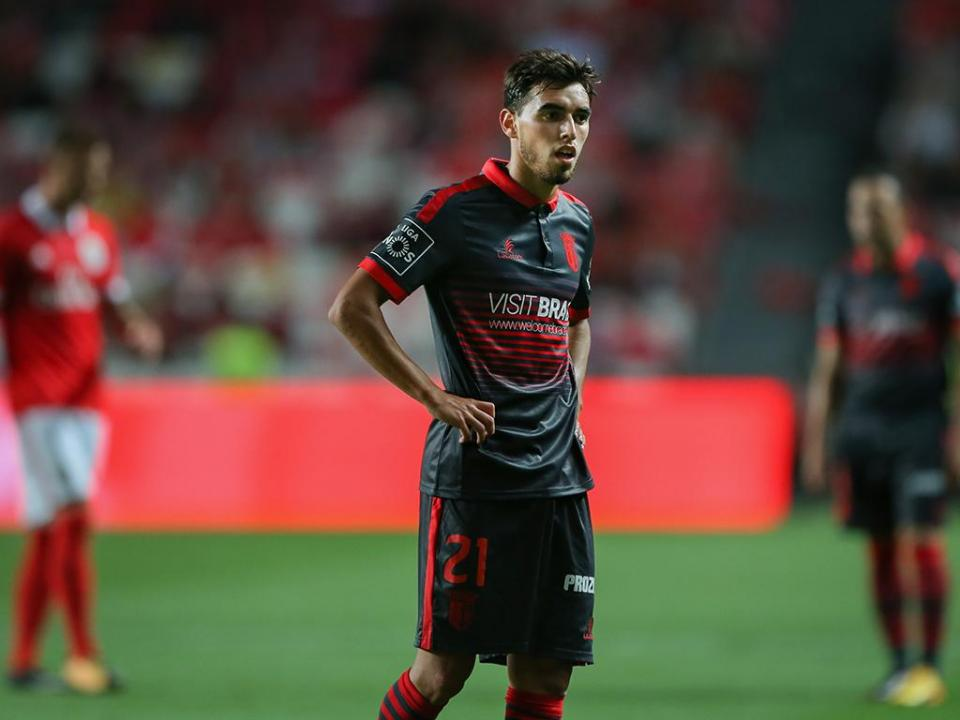 Vídeo-árbitro: lance de Ricardo Horta na Luz «não é claro»