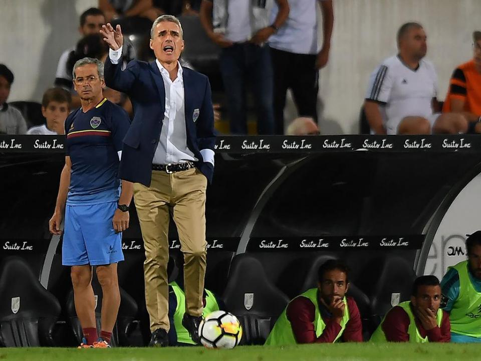Luís Castro e o Benfica: «Os nossos jogadores também têm muita qualidade»