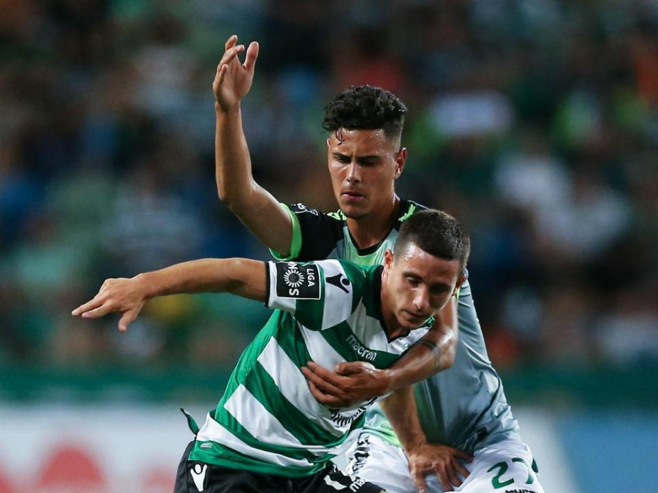 Sporting-Belenenses: Podence titular, Battaglia fica no banco (onzes)