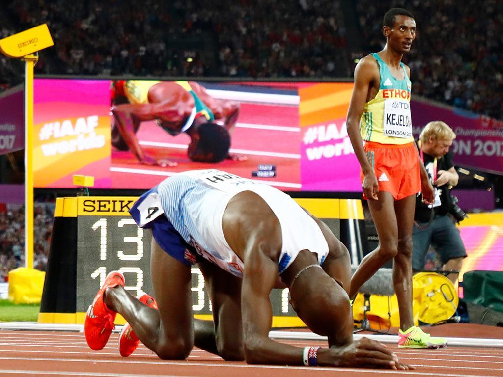 Londres 2017: Mo Farah de prata no adeus ao atletismo