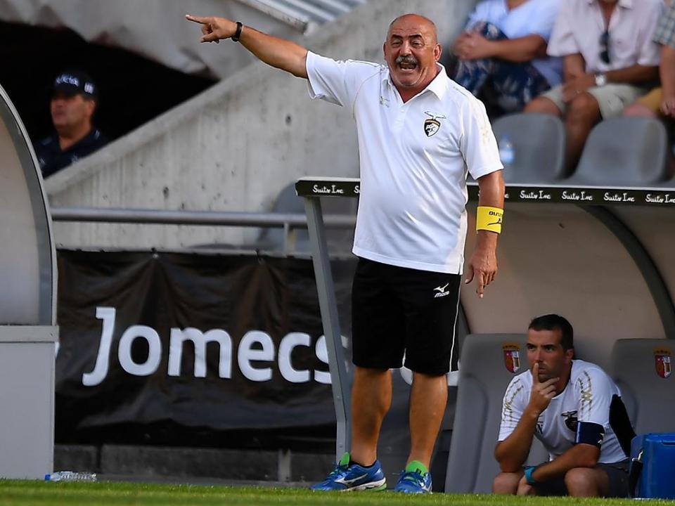Vítor Oliveira: «Empate antes do jogo era bom, agora fica um sabor amargo»